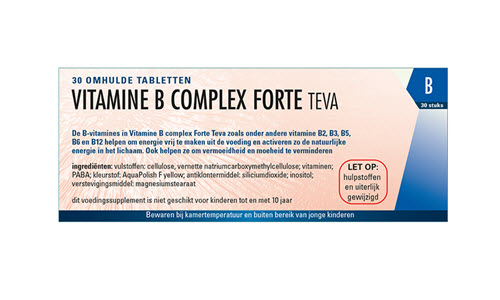 Vitamine B Complex forte tablet