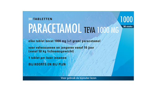 Paracetamol 1000 mg tablet